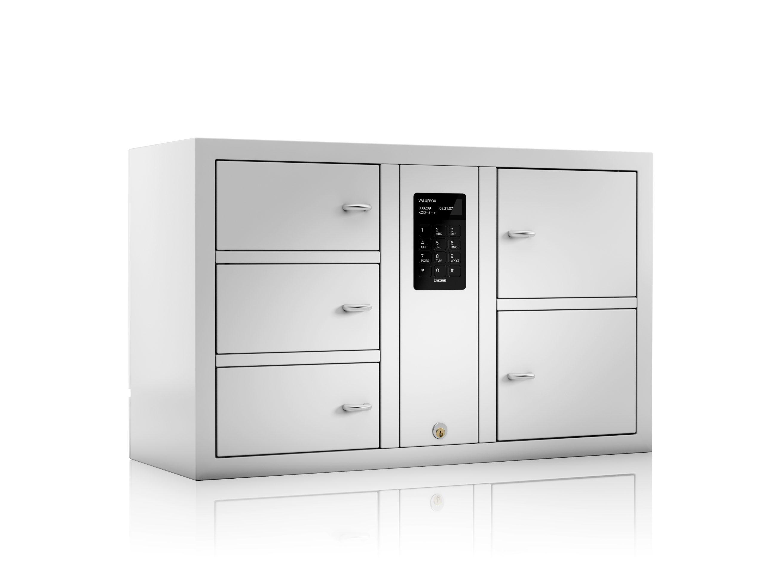 Visuel de groupe des armoires fortes ValueBox de la série System