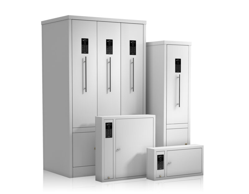 All KeyControl key cabinets designed for key management