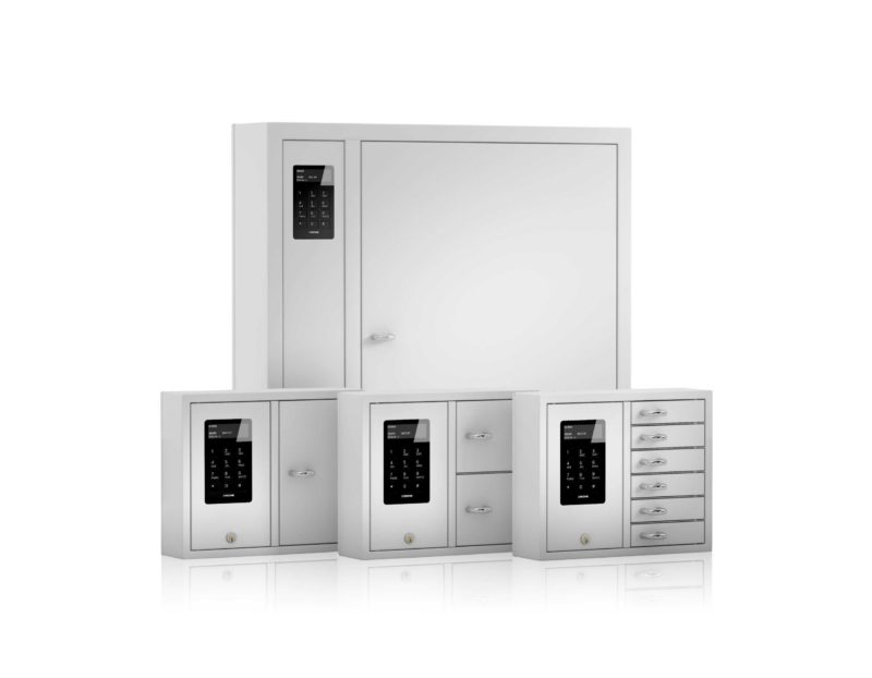 Smaller group image for KeyBox System series key cabinets