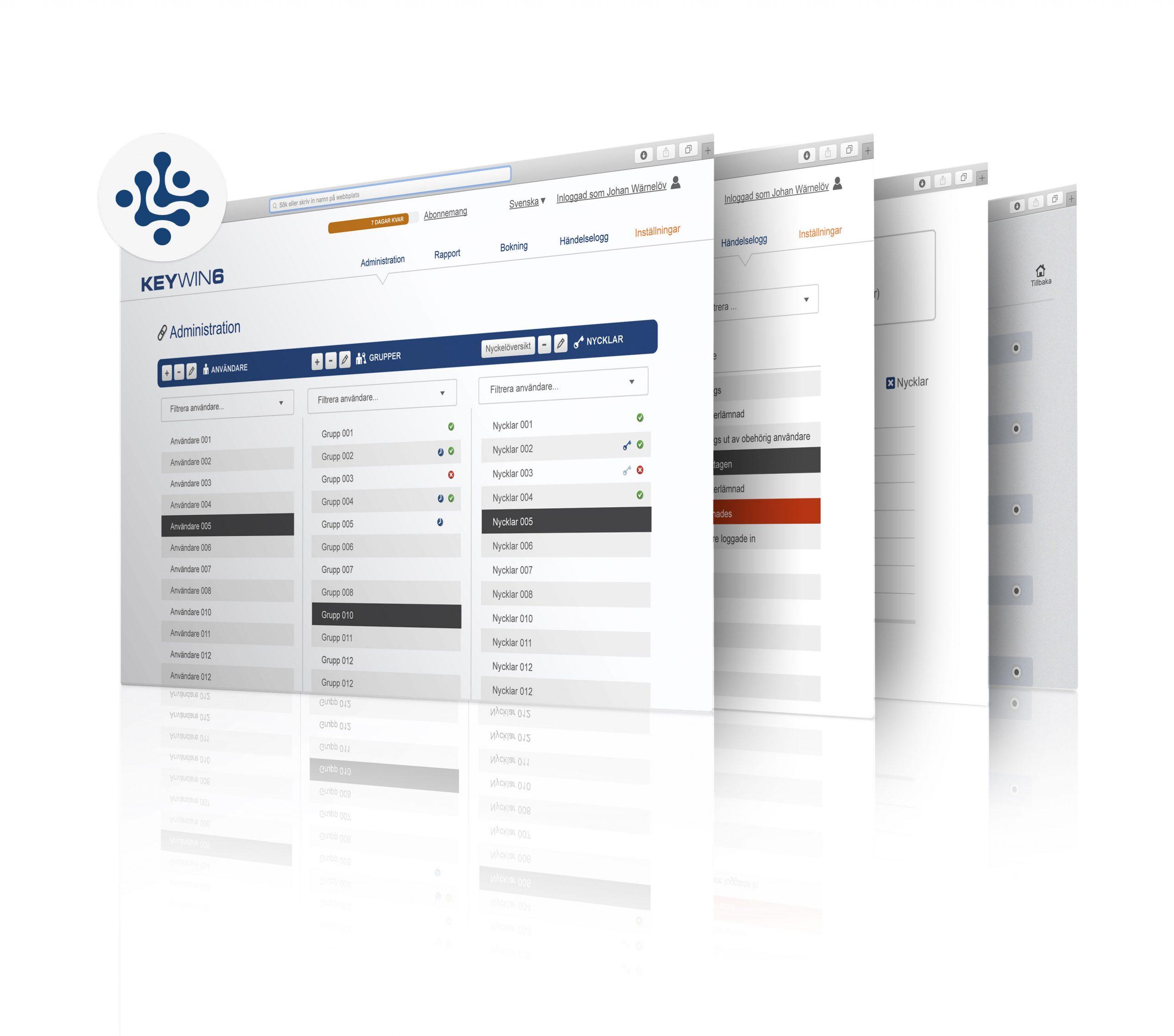 Intégration de la gestion de clés au système d'accès