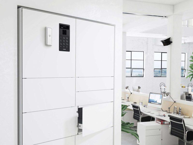 Armoire ValueBox SC de la série Control dans un environnement de bureau