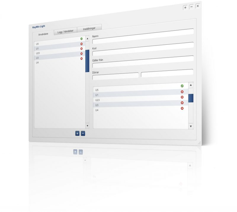 Smaller image of key management software KeyWin Light